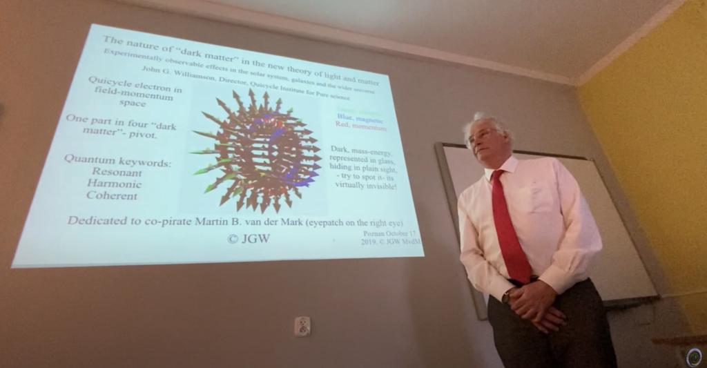 QV0022: Dr. John G. Williamson: Pivot & Dark Matter