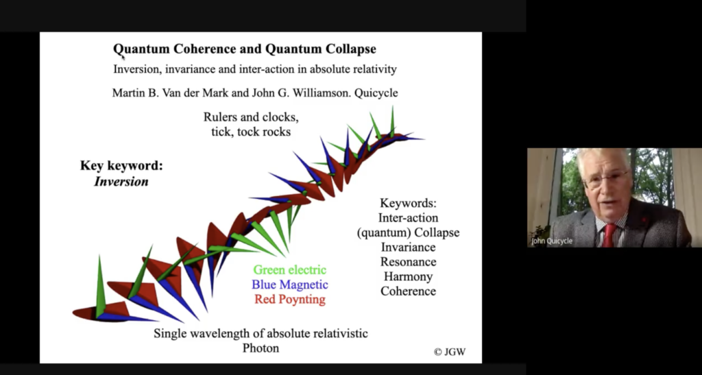 QC0068: Dr. John G. Williamson: Quantum Coherence & Quantum Collapse
