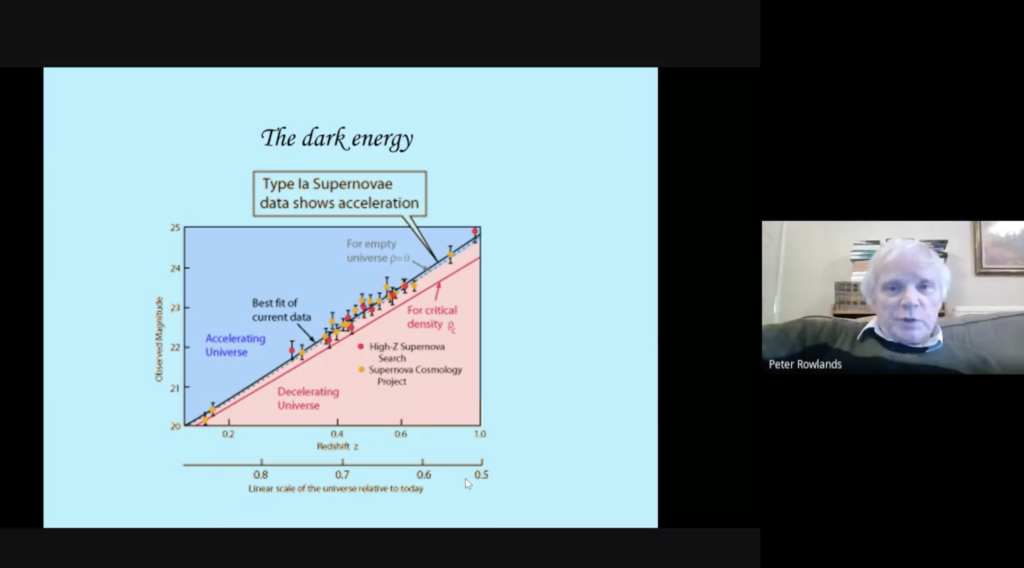 QC0073: Peter Rowlands: Does Dark Energy Have A Critical Value?